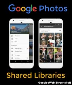 Google Photos Shared Libraries